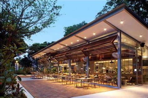 contoh model cafe outdoor modern desain cafe