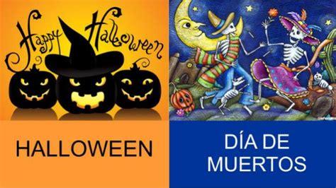 imagenes halloween y dia de muertos diferencias entre halloween y d 237 a de muertos un1 211 n