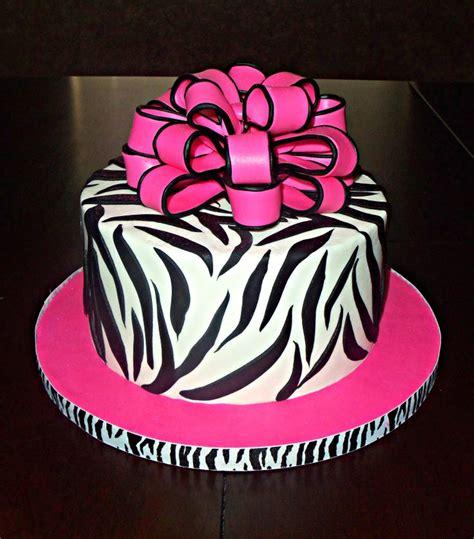 zebra pattern cake ideas amazing design zebra print birthday cake awesome ideas
