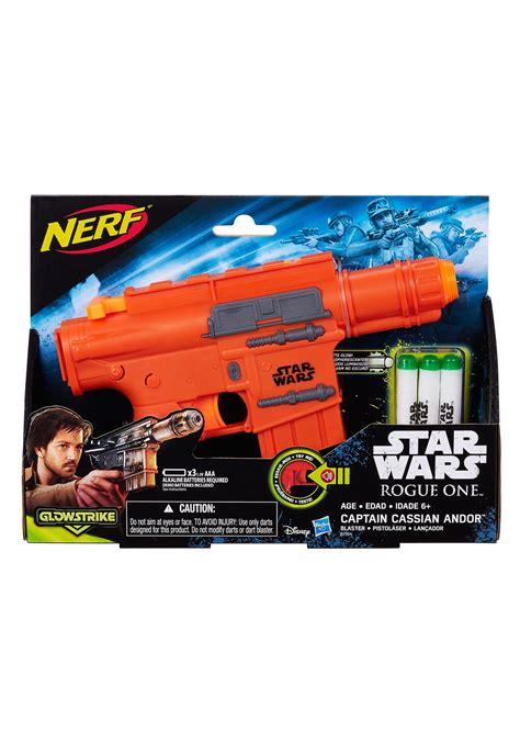 rogue  captain cassian andor star wars nerf gun