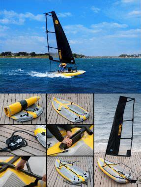 zeilboot opblaasbaar melior yachts introduceert de opblaasbare zeilboot tiwal 3