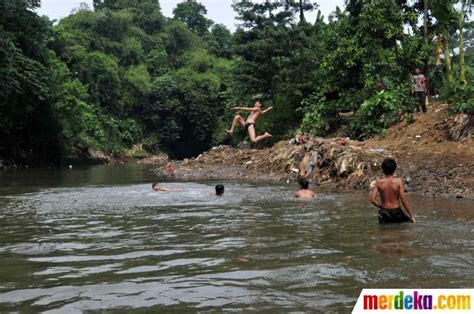 Kini Arwana Di Sungai foto kini sungai ciliwung mulai tercemar sah