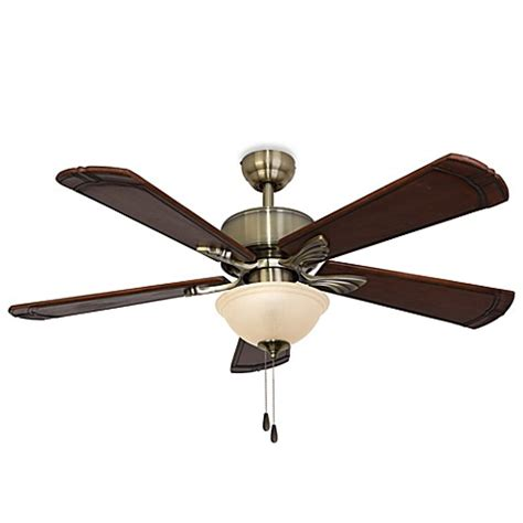 bed bath and beyond ceiling fans 52 inch westbrook aged brass ceiling fan bed bath beyond
