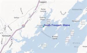 freeport map south freeport maine tide station location guide
