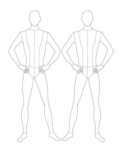 croquis 2 male front croquis pinterest