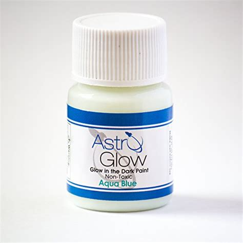 glow in the paint that dries clear glow in the paint premium aqua blue 54 fl oz