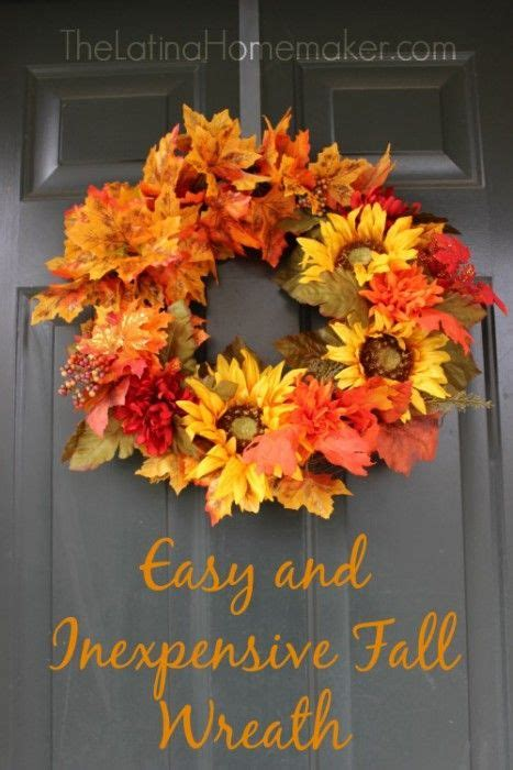 how to make a fall wreaths for front door best 25 fall wreaths ideas on thanksgiving
