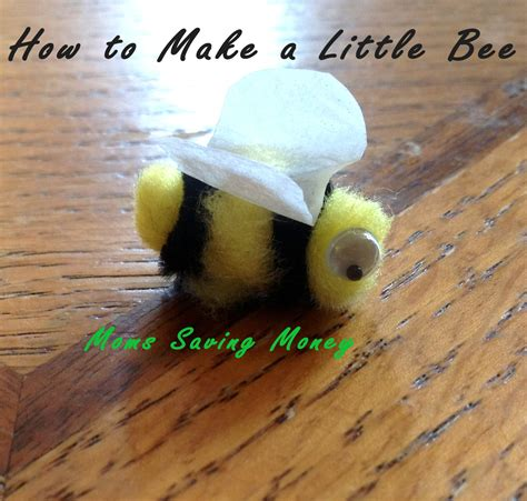 How To Make A Paper Bong - easy bee craft
