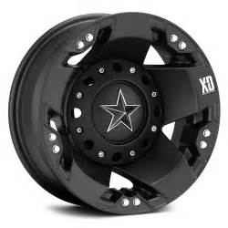Truck Wheels For Less Black Rockstar Truck Rims Tires Wheels And Rims