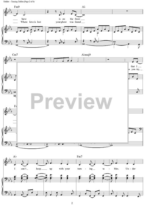 turning tables sheet turning tables sheet for piano and more
