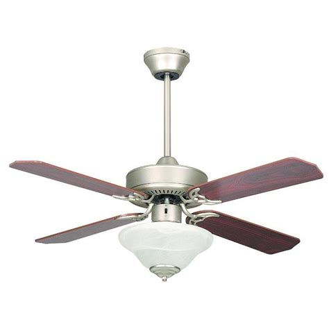 concord ceiling fan company concord fans heritage square 42 in indoor satin nickel