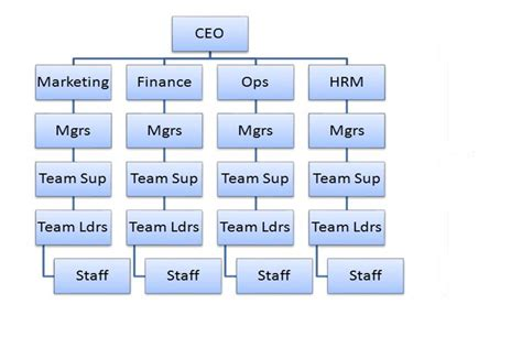 diagram hierarchy what is a hierarchical structure