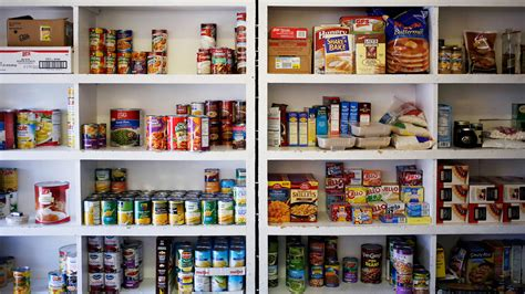 Pantry Dishes by The Snap Gap Benefits Aren T Enough To Keep Many Recipients Fed The Salt Npr