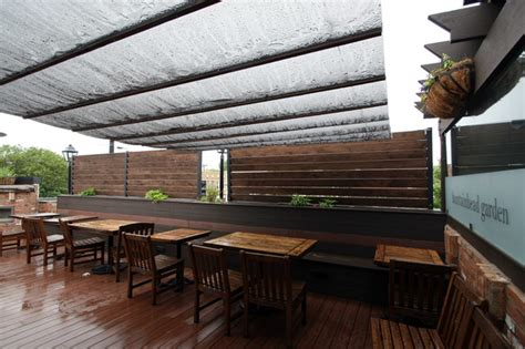 Restaurant Patio Design Ideas by Ravenswood Restaurant Rooftop Dining Area Traditional