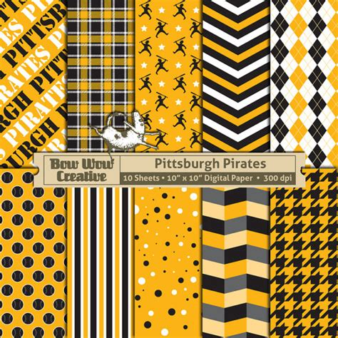 pittsburgh pattern recognition download 10 pittsburgh pirates pattern digital papers for
