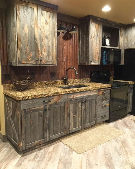 cheap rustic kitchen cabinets kitchen ideas and design