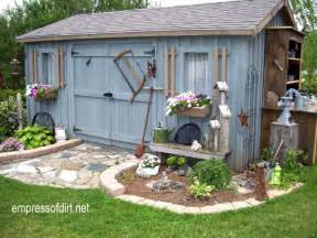 Vertical Gardening Structures - charming garden sheds from rustic to modern empress of dirt
