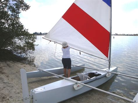 trimaran pros and cons a smaller trimaran discussion continued small trimarans