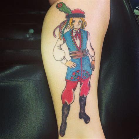 tattoo girl costume polish traditional costume tattoo tattoo pinterest