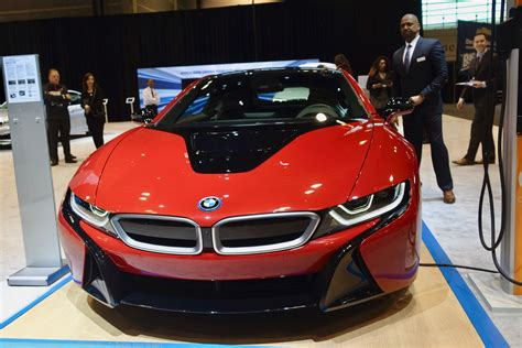 red bmw 2017 2017 chicago auto show the new bmw i8 protonic red