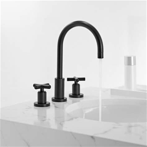 bath dornbracht tara black and white edition faucets to