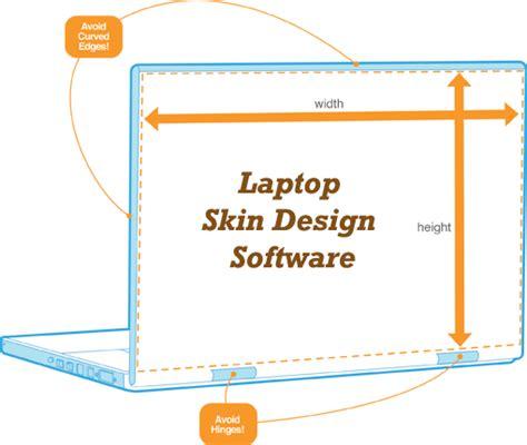 skin design tool laptop skin design software to get custom laptop skin no