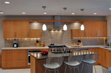 modern pendant lights for kitchen modern kitchen with lovely pendant lighting and an touch decoist