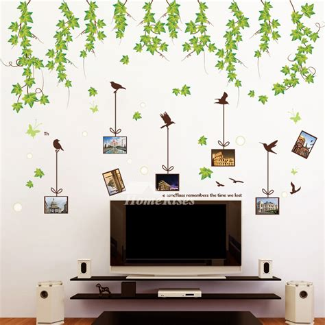cheap wall stickers for rooms bedroom wall stickers tree flower plant self adhesive cheap