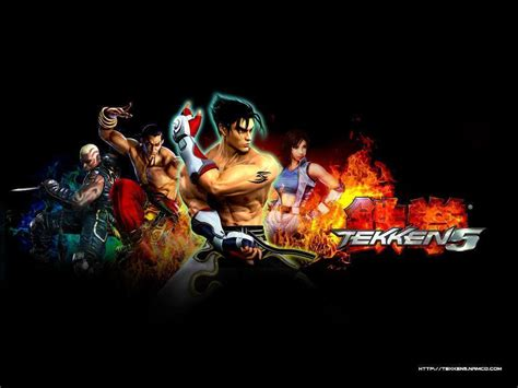 game wallpaper tekken 5 tekken 5 wallpapers wallpaper cave