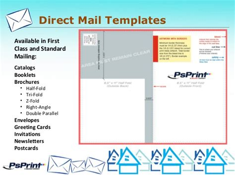 psprint designers eddm direct mail presentation