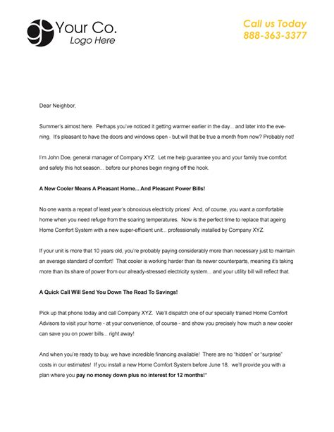 Service Marketing Letter Marketing Letter Templates Word Excel Sles