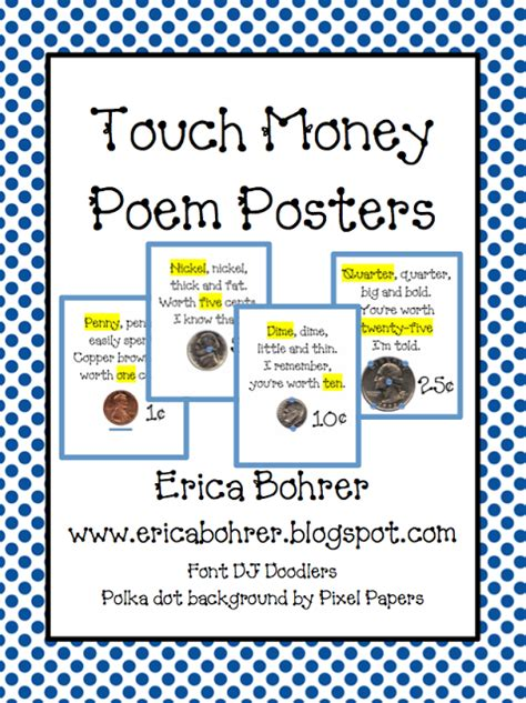 Touch Math Money Worksheets by Touch Math Touch Money Erica S Ed Ventures