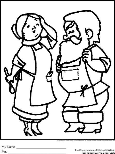 coloring pages of santa and mrs claus mrs claus coloring pages coloring home