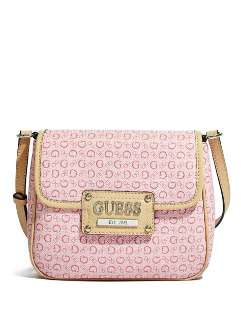 Tab Lock Flap Cross Bag guess s flap closure cross bag ebay