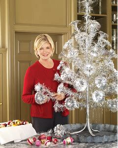 martha s faux christmas trees martha stewart