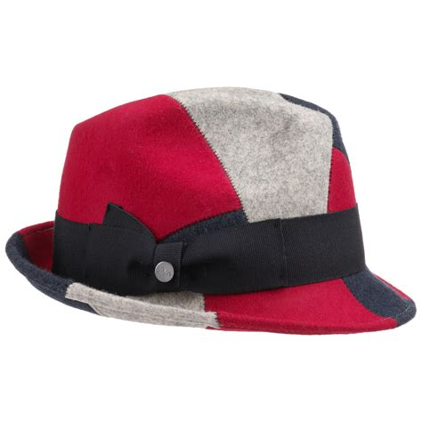 Patchwork Hat - patchwork wool trilby hat by lierys eur 69 95 gt hats