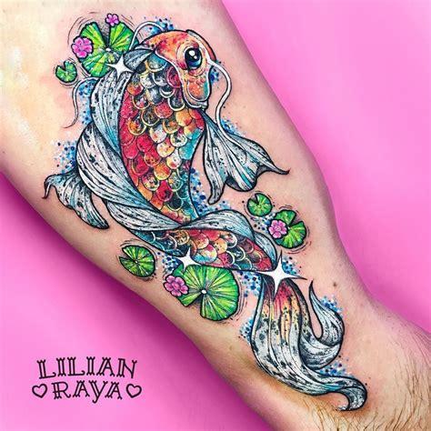 tattoo pez koi naranja pin by melanie mcgill on inked pinterest tattoo