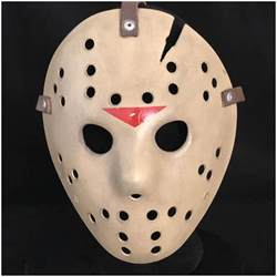 How To Make A Jason Mask Out Of Paper - deluxe jason hockey mask part 6 mad about horror