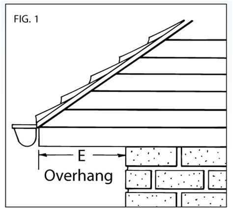 c section overhang pictures typical roof overhang dimensions pictures to pin on