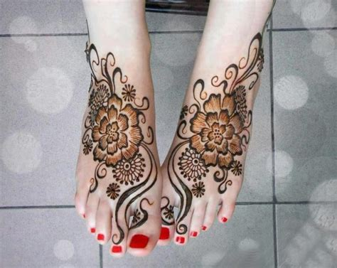 nail polish tattoo designs 20 glamorous foot mehndi designs images sheideas