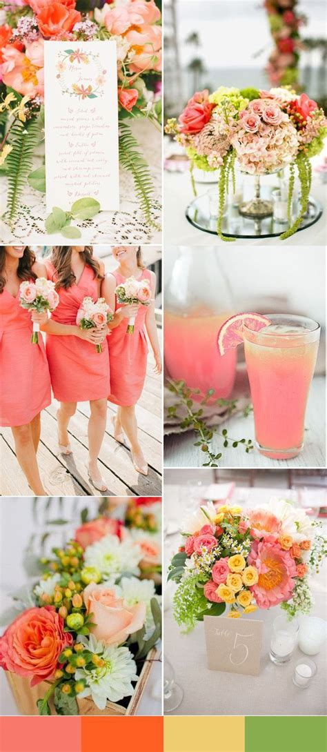 wedding colour themes spring and summer brides top 10 wedding colors for spring 2016 part two spring