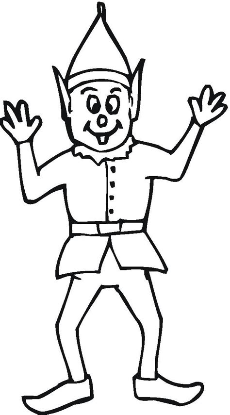 elf size coloring page trendy elf coloring pages about elf coloring pages free