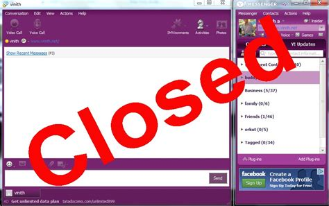 free yahoo chat rooms after 18 years of being yahoo messenger finally signs out forever