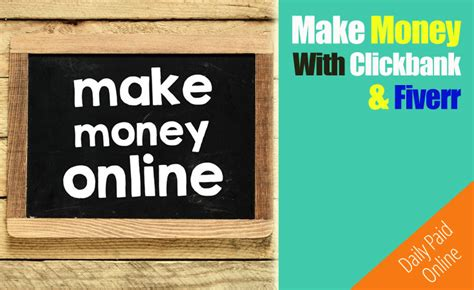 how to make 100 a day at home with clickbank fiverr - How To Make Money Online With Clickbank