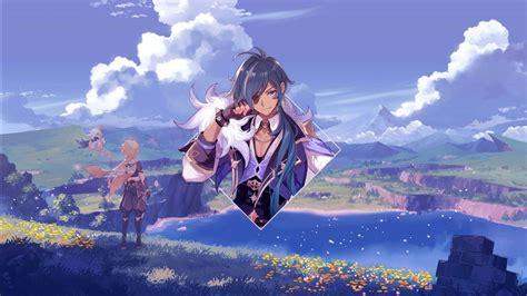 kaeya genshin impact  hd games wallpapers hd