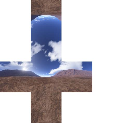 skybox images how to make a single skybox texture to use with unity