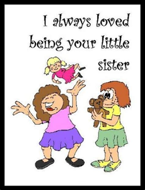 funny quotes about little sisters quotesgram