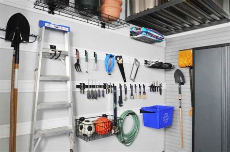 Garage Storage Wall Garage Wall Shelving Image Of Warm Wooden Shelves Rustic