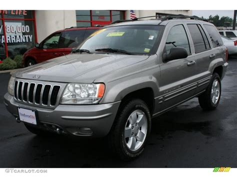 2001 gray jeep grand cherokee 2001 silverstone metallic jeep grand cherokee limited 4x4