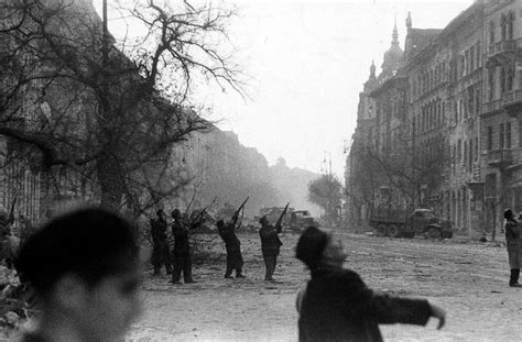 The Hungarian Revolution of 1956: Photos From the Streets